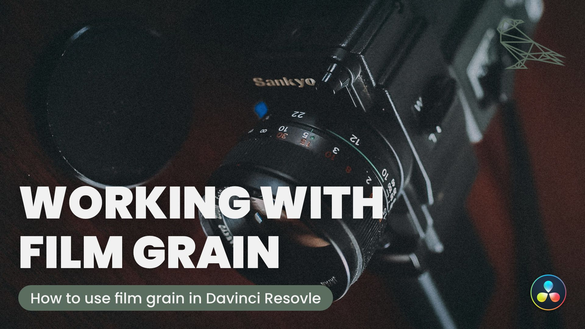 Working With Film Grain In Davinci Resolve