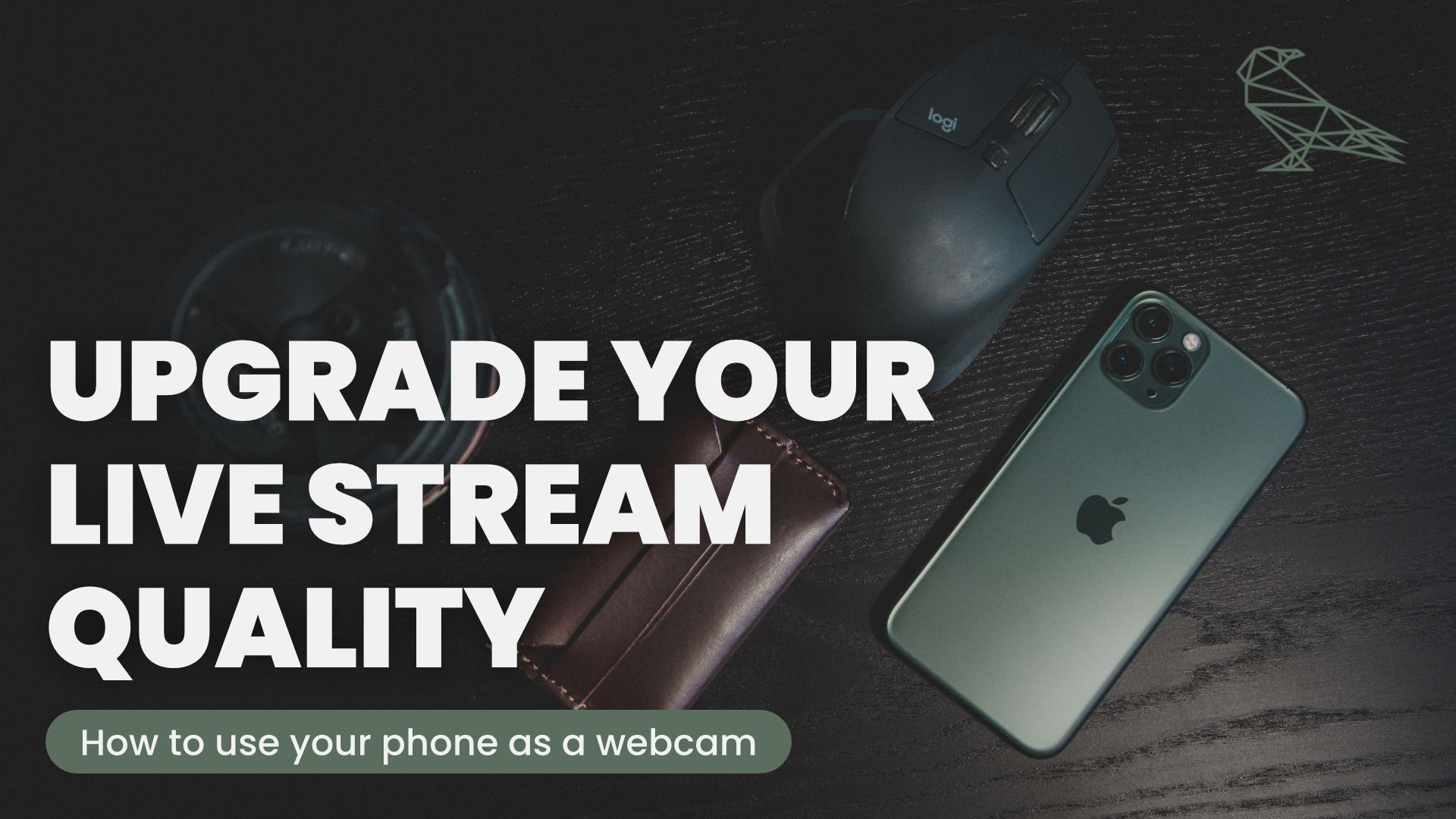 Instantly Improve The Quality Of Your Livestreams & Video Calls - How To Use Your Phone As A Webcam
