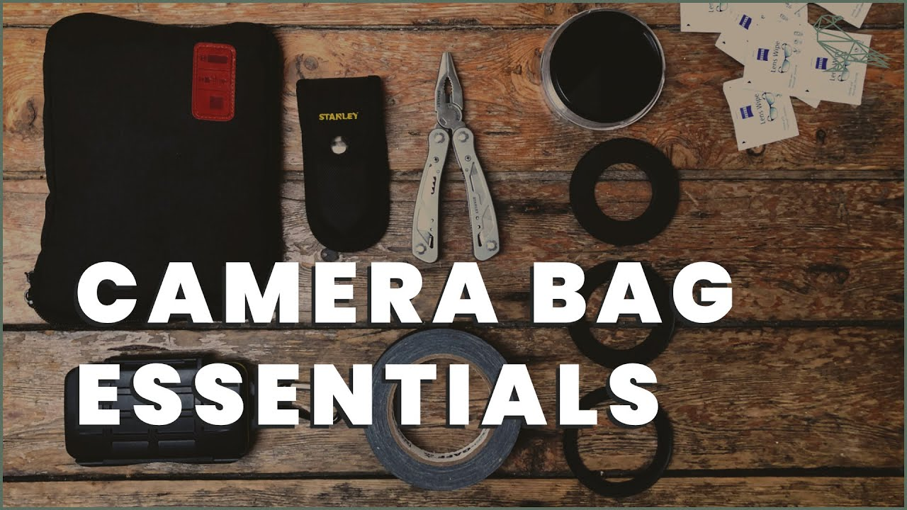 5 Things Every Filmmaker Needs In Their Camera Bag