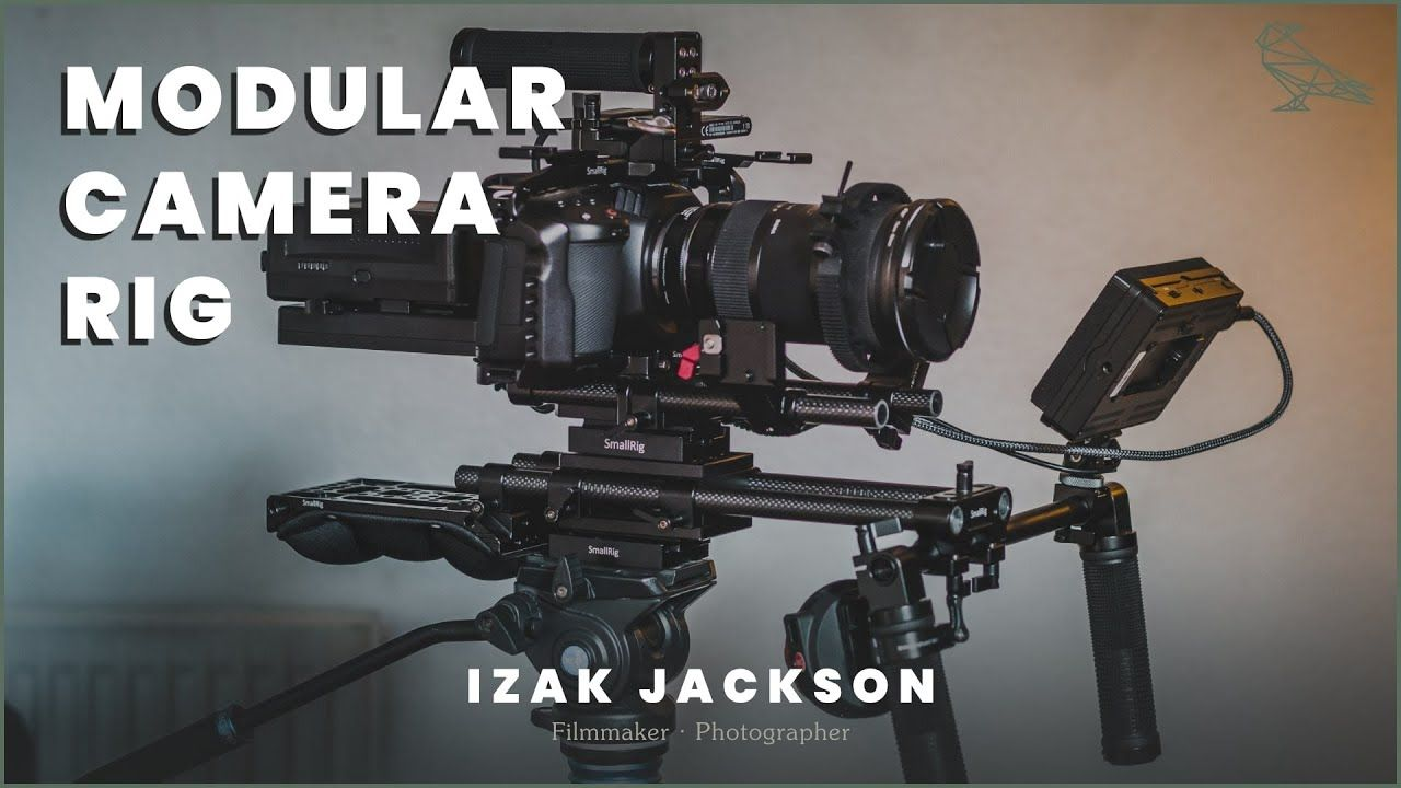 Ultimate MODULAR Camera Rig For The BMPCC 4K