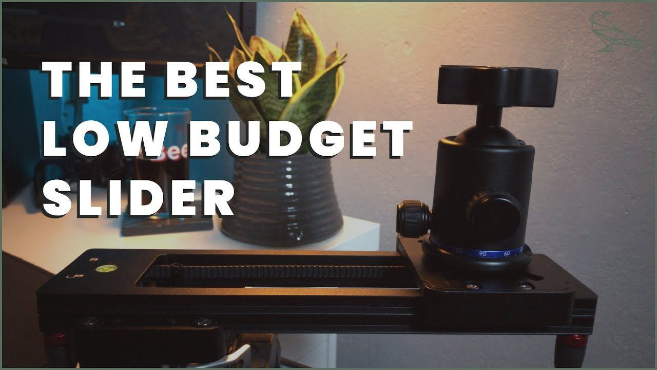 The Best Low Budget Slider - Neewer Portable Mini Camera Slider Review