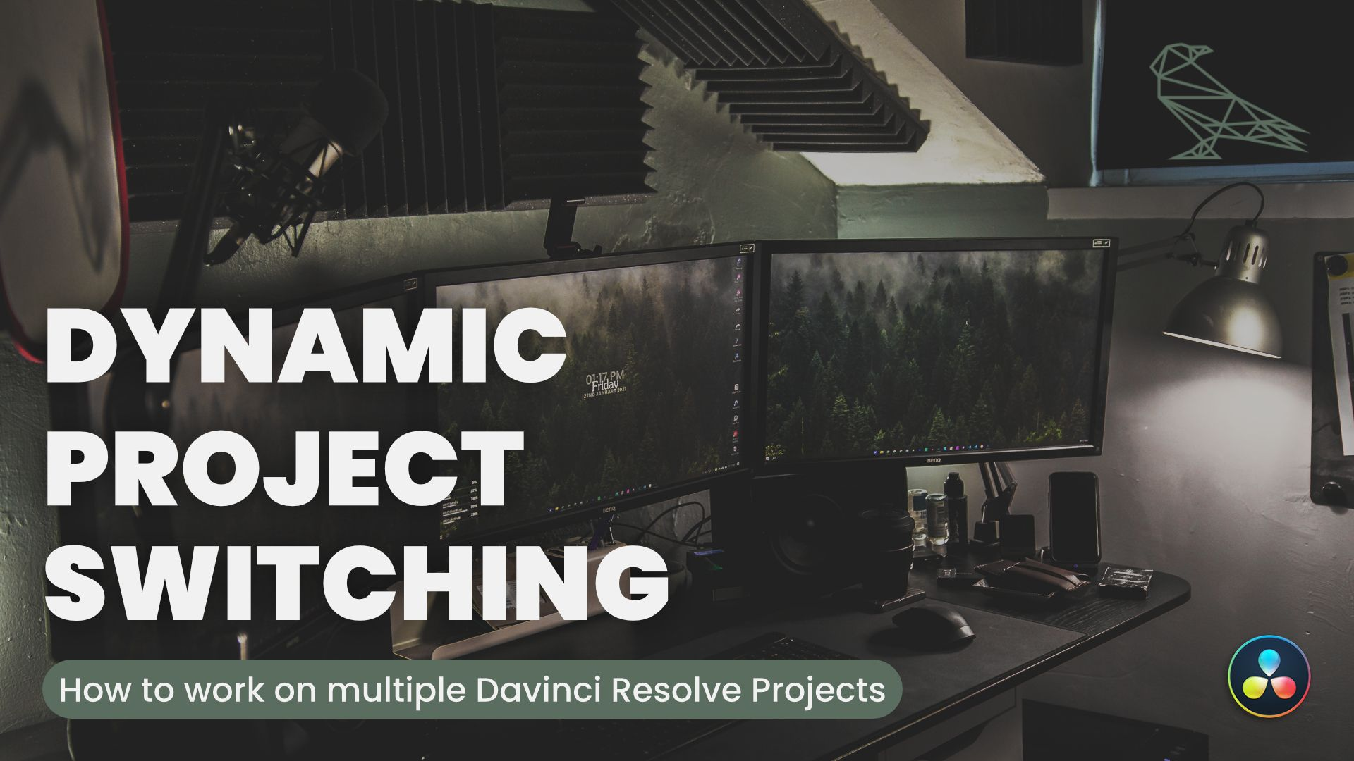 Work On Multiple Projects At The Same Time In Davinci Resolve - Dynamic Project Switching